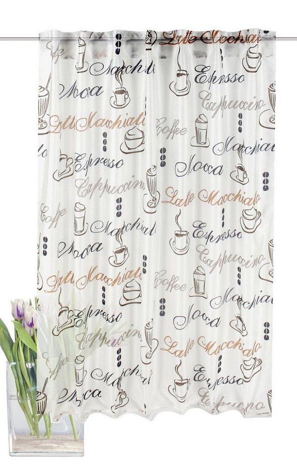 Vorhang, Home Wohnideen, »Cloe« (1 Stück) in creme