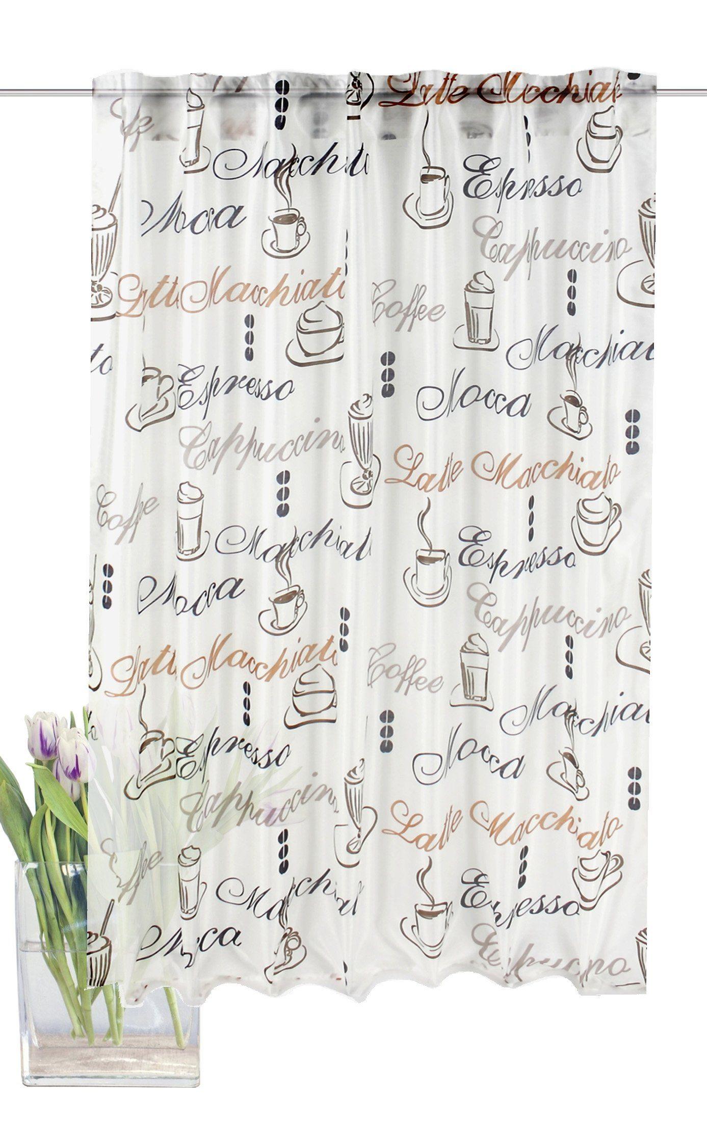Vorhang, Home Wohnideen, »Cloe«, mit verdeckten Schlaufen (1 Stück)