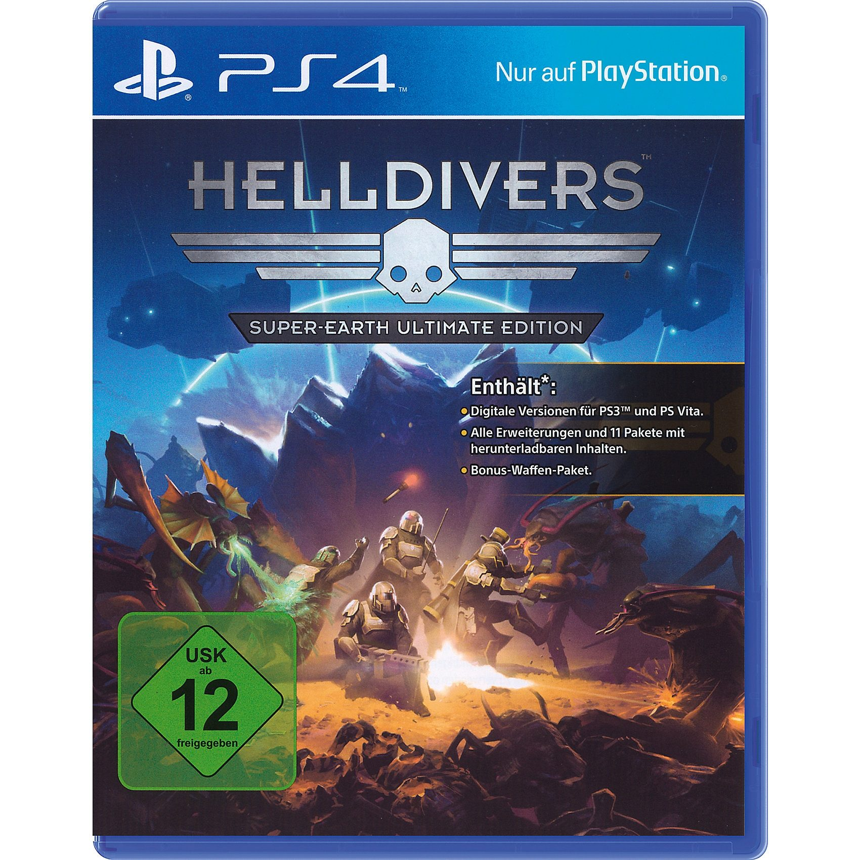 ak tronic PS4 Helldivers Super-Earth Ultimate Edition
