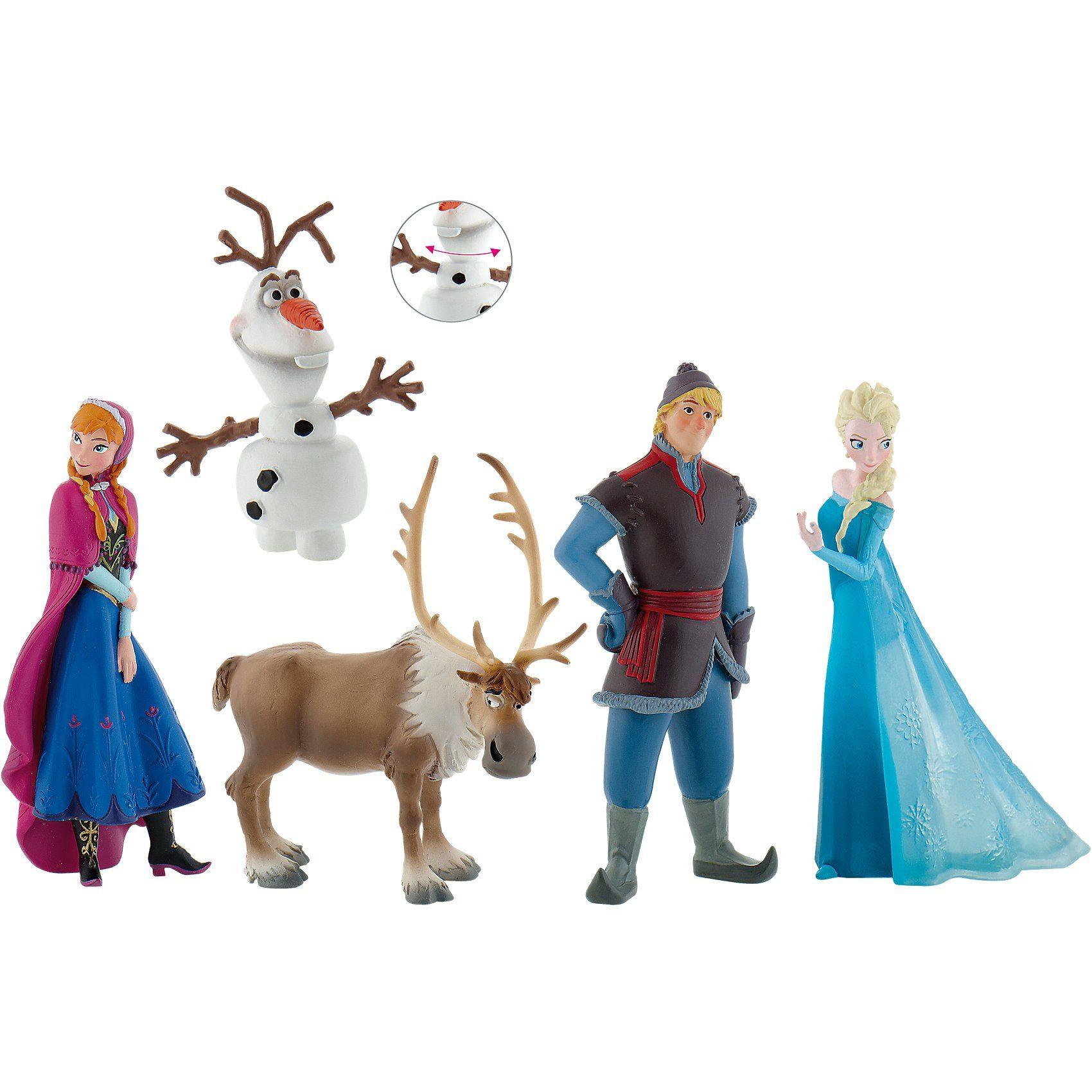 BULLYLAND Comicwelt - Walt Disney Die Eiskönigin Bumper Pack