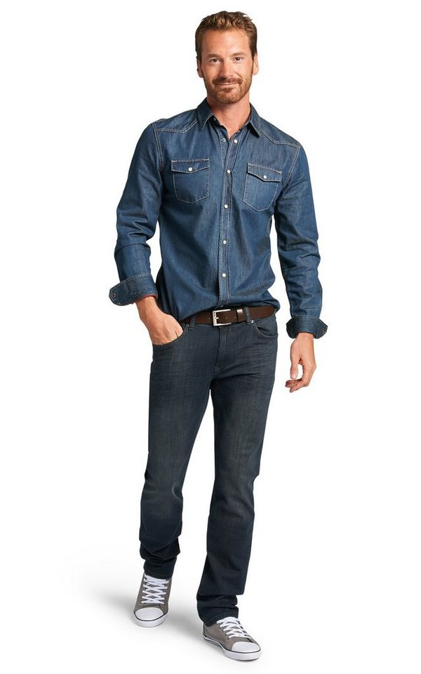 H.I.S Jeans »Cliff, Slim Fit« in humble blue