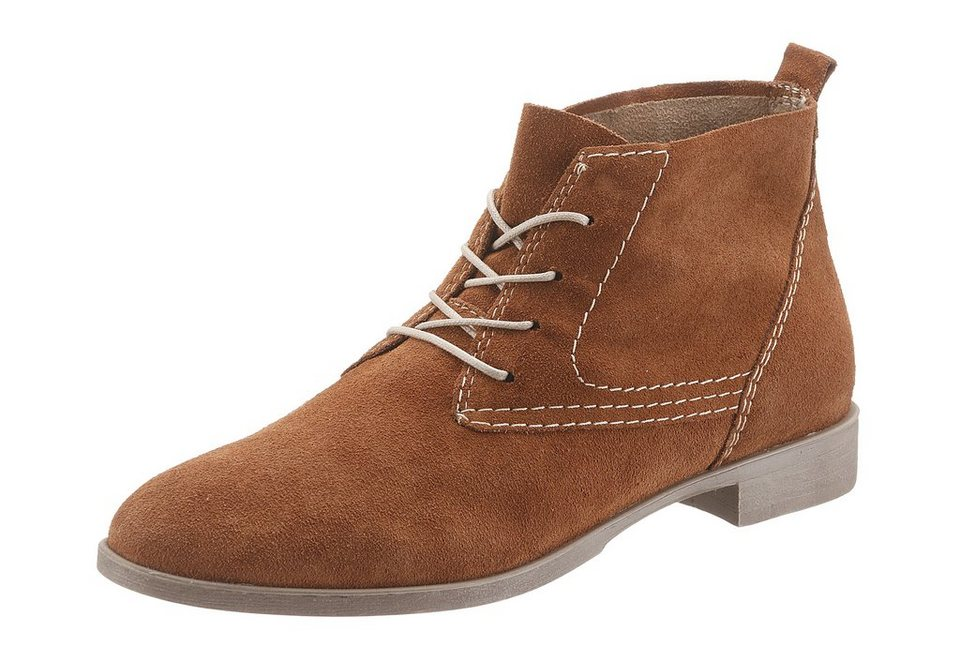 Tamaris Desert-Boots in rostbraun