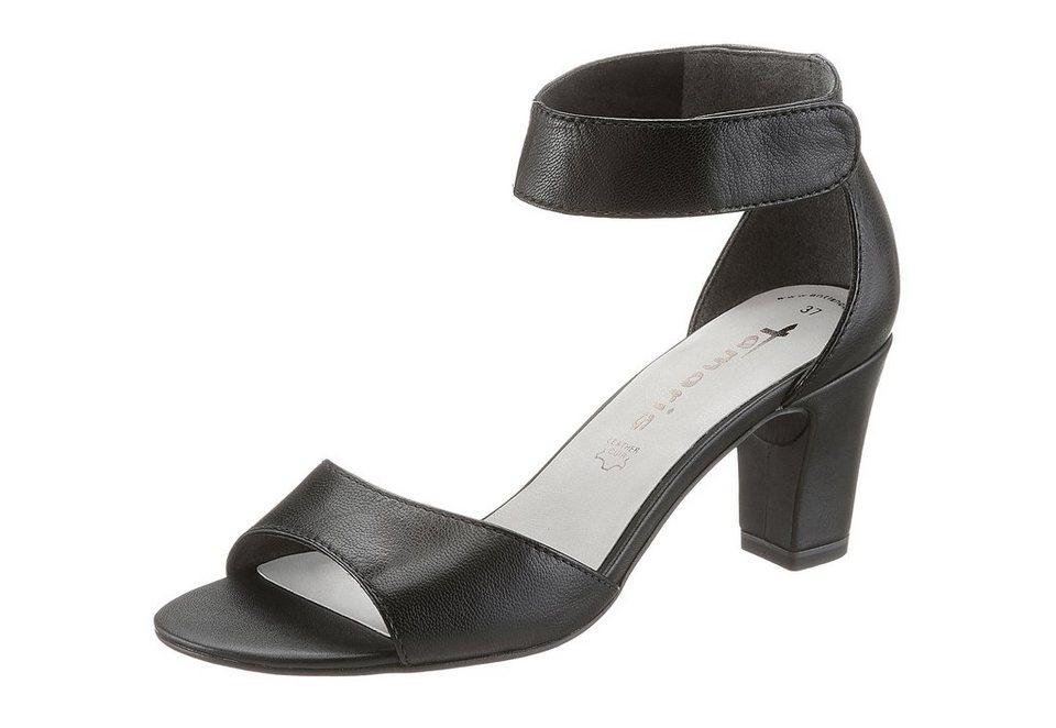 Tamaris Sandalette in schwarz