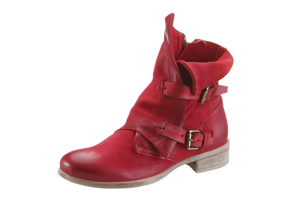Arizona Boots in rot