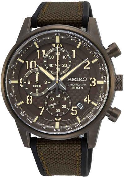 Seiko Chronograph »SSB371P1«, Herren Chronograph Quarz