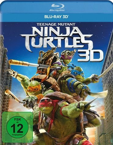 Blu-ray »Teenage Mutant Ninja Turtles (Blu-ray 3D)«