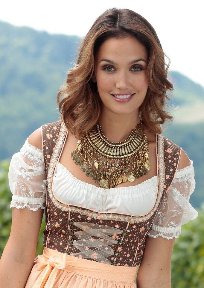 Klimm Trachten-Halskette in goldfarben
