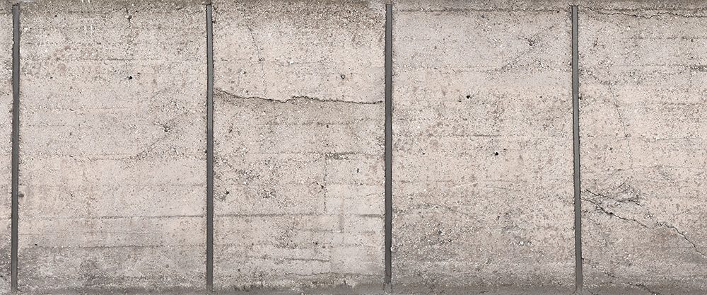 Fototapete, Architects Paper, »Beton Fototapete« 600 x 250 cm