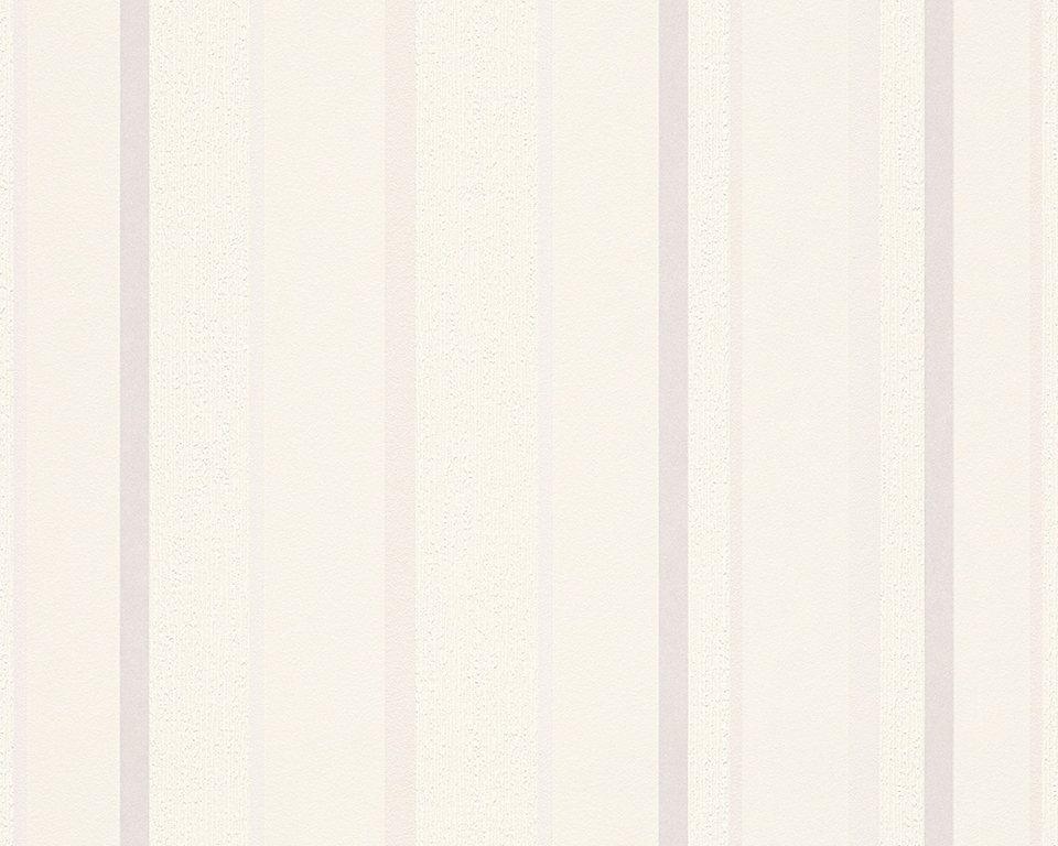 Vliestapete, Livingwalls, »Schöner Wohnen 7« in metallic weiß