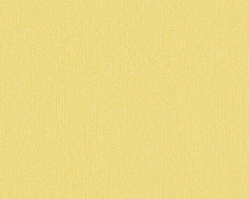 Vliestapete, Livingwalls, »Schöner Wohnen 7« in gelb