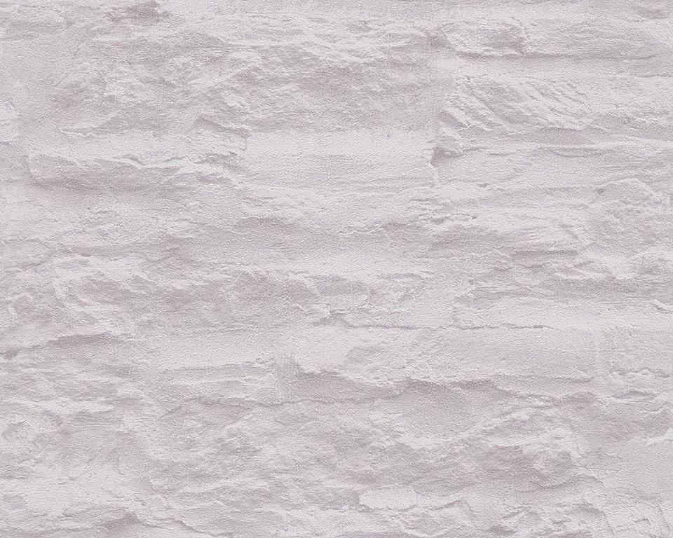 vliestapete livingwalls sch ner wohnen 7 steinwand online kaufen otto. Black Bedroom Furniture Sets. Home Design Ideas