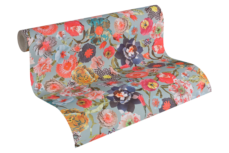Papiertapete, living walls, »Oilily Atelier«, Blumen 2