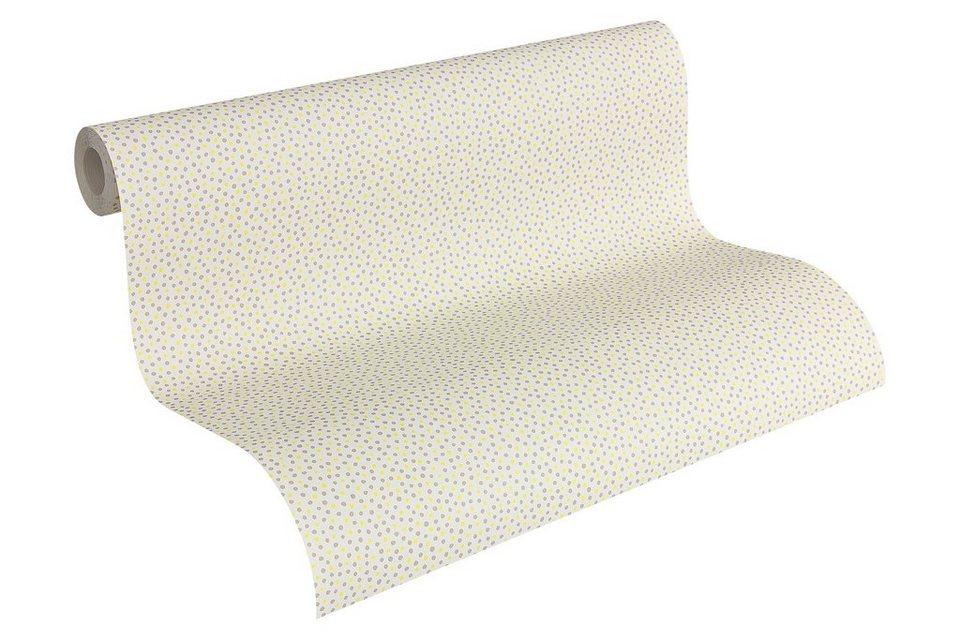 Papiertapete »Oilily« in beige creme grün