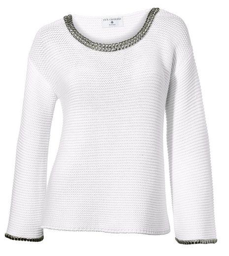 RICK CARDONA by Heine Oversized-Pullover mit Nieten