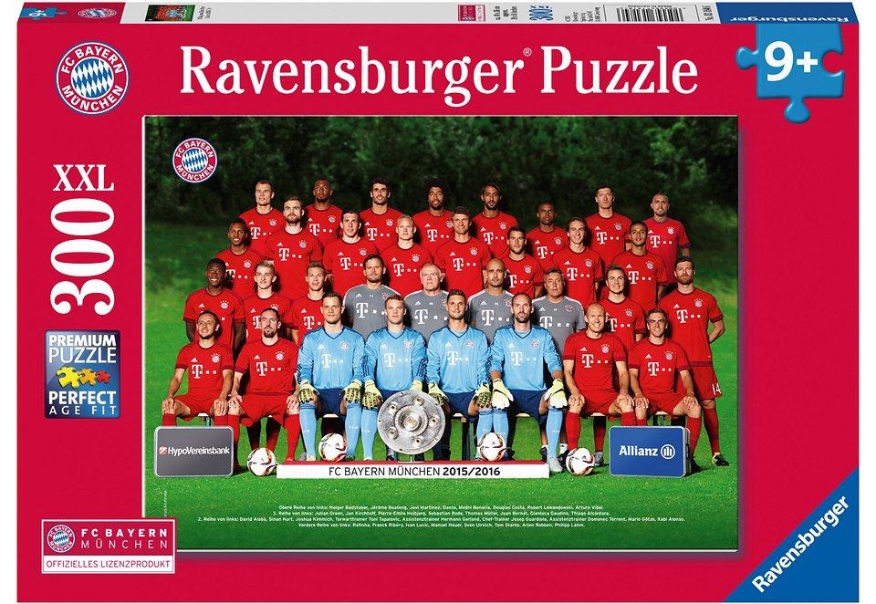 Ravensburger Puzzle, »FC Bayern München Saison 2015/16«, 300 Teile