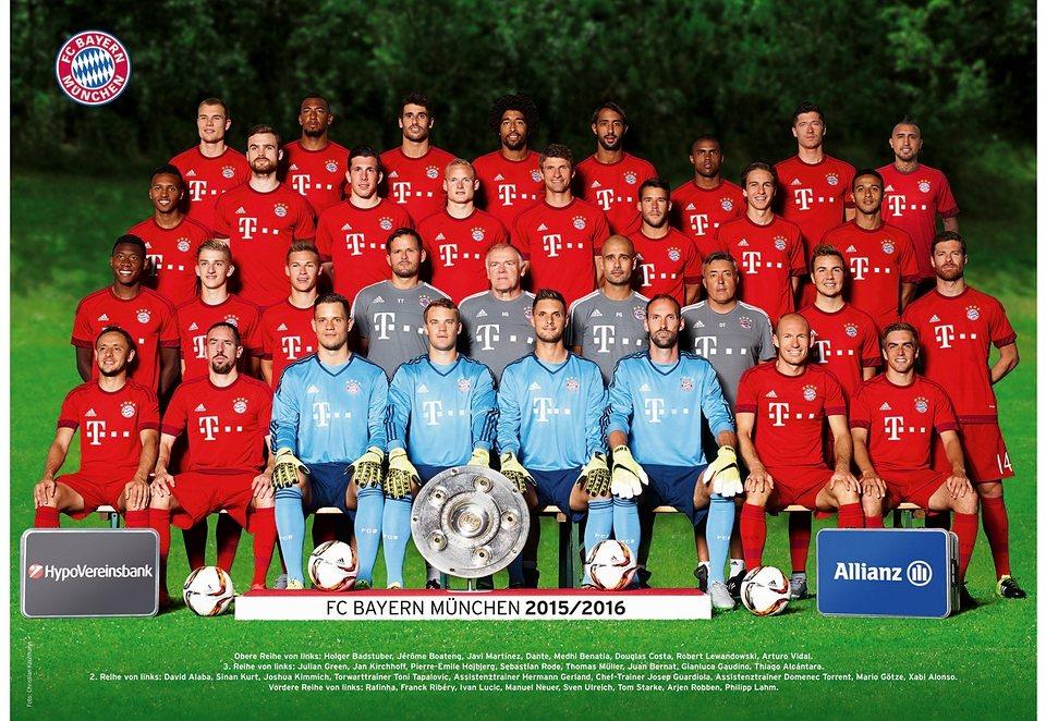 Ravensburger Puzzle, »FC Bayern München Saison 2015/16«, 1000 Teile