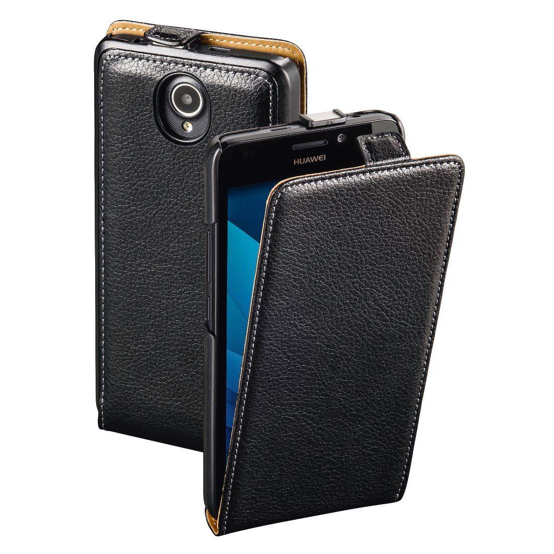 Hama Flap-Tasche Smart Case für Huawei Y635, Schwarz