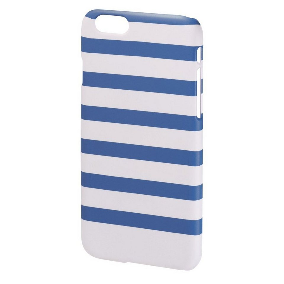 hama cover stripes f r apple iphone 6 blau wei otto. Black Bedroom Furniture Sets. Home Design Ideas