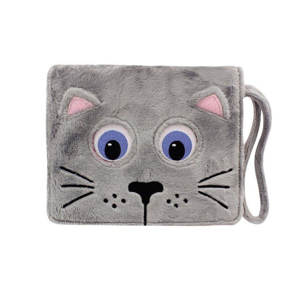 TabZoo Portfolio Tablet Tasche für Kindertablets von 7 Zoll bis »8 Zoll (17,8 cm bis 20,3 cm)« in Grau