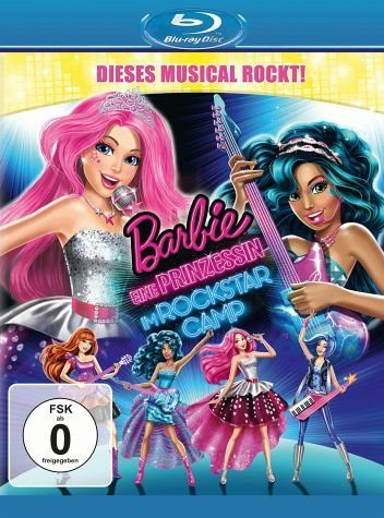 Blu-ray »Barbie - Eine Prinzessin im Rockstar Camp«