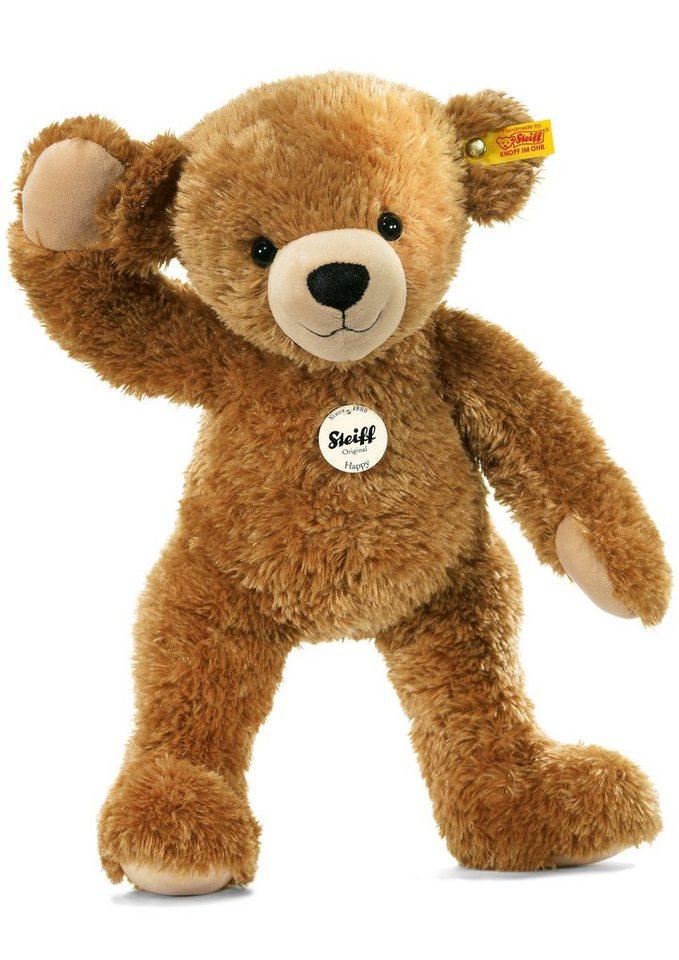 Steiff Plüschtier, 28 cm, »Happy Teddybär« in braun