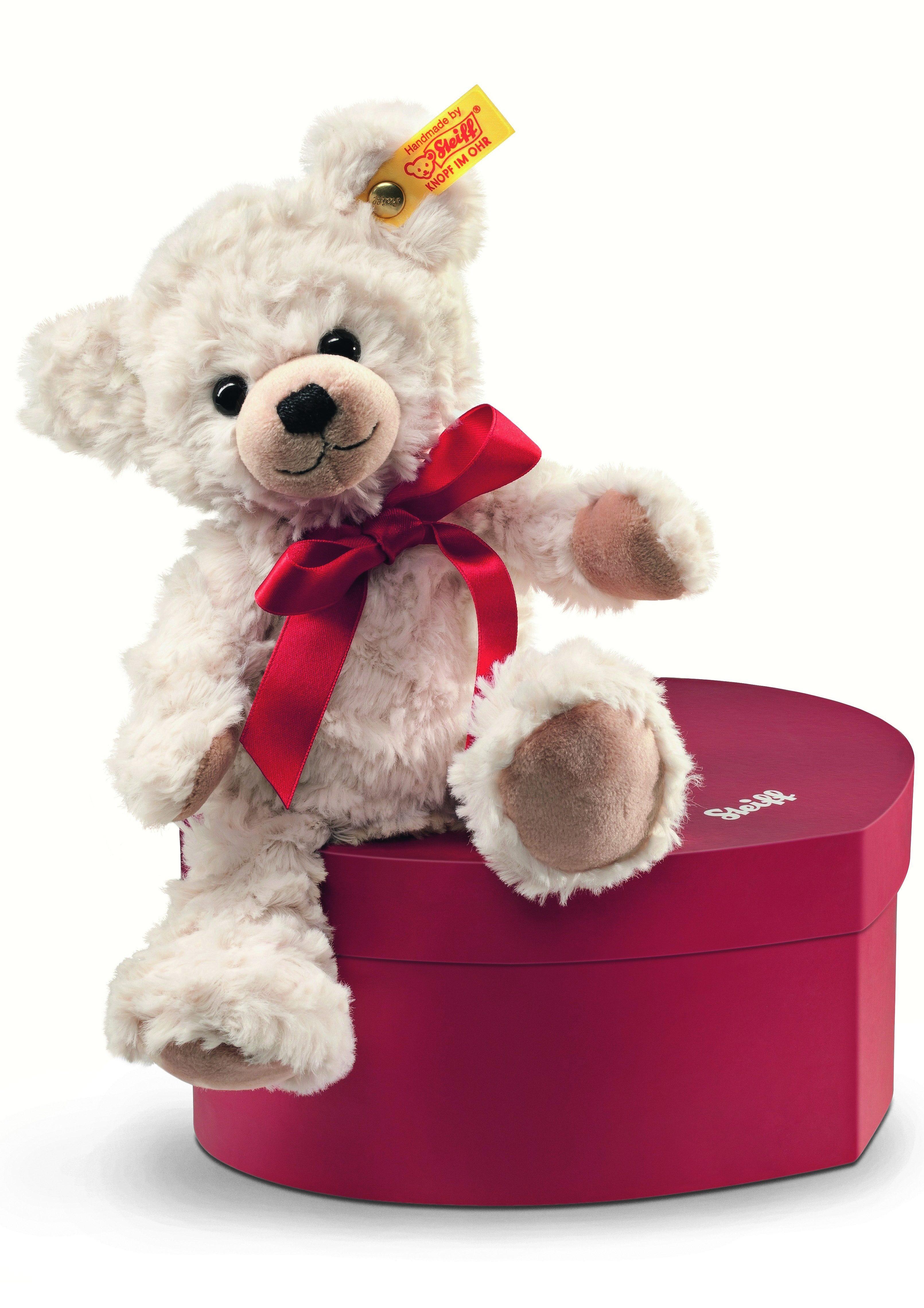 Steiff Plüschtier, »Sweetheart Teddybär in Herzbox«