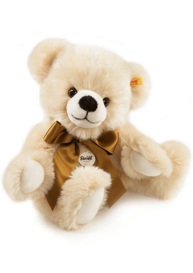 Steiff Plüschtier, »Bobby Schlenker-Teddybär« in weiß