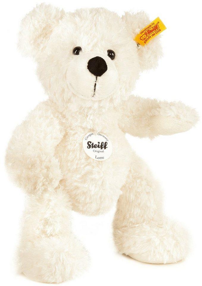 Steiff Plüschtier, 28 cm, »Lotte Teddybär« in Cremefarben