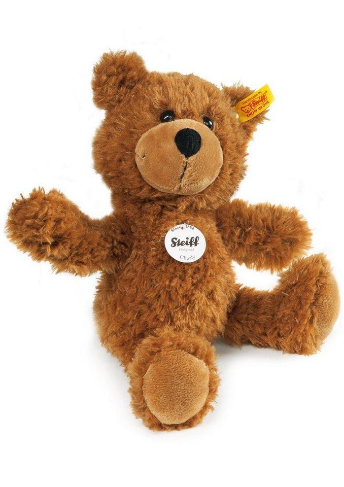 Steiff Plüschtier, »Charly Schlenker-Teddybär« in braun