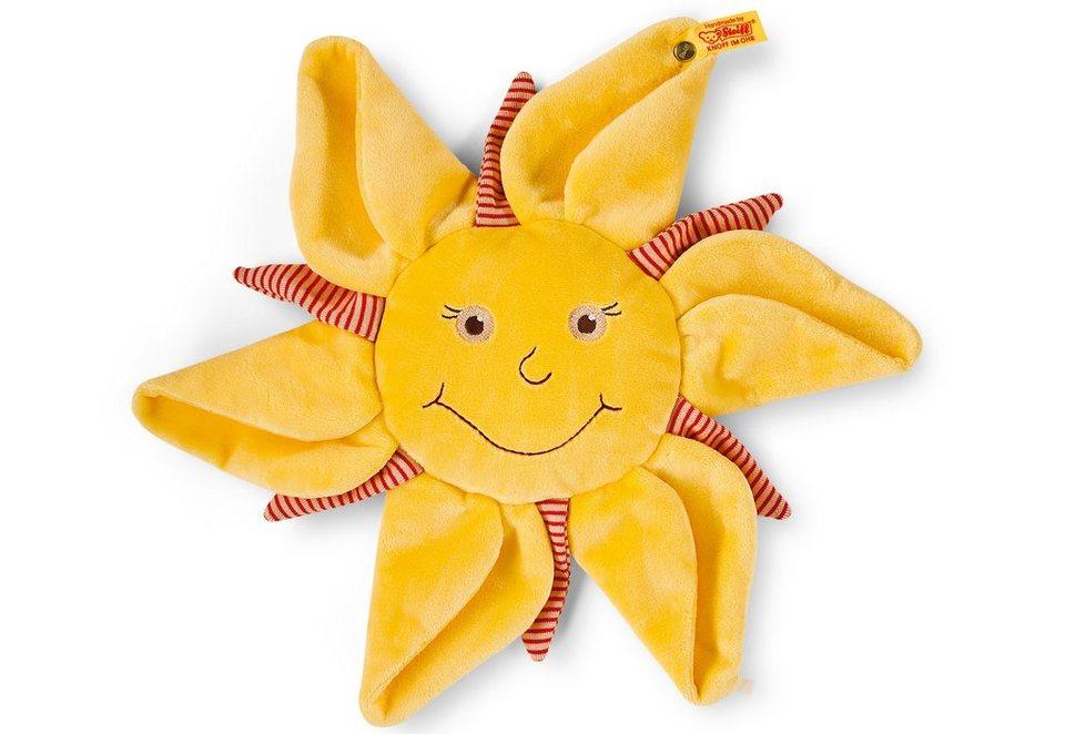 Steiff Schmusetuch, »Sonne, Mond und Sterne Schmusetuch« in gelb