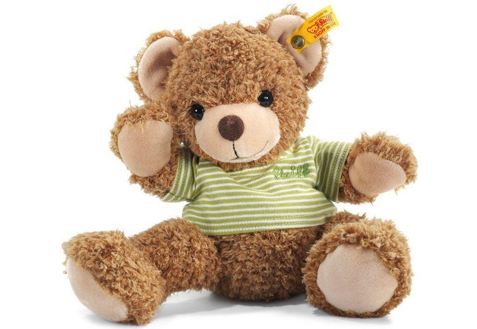 Steiff Plüschtier, »Knuffi Teddybär« in braun/grün
