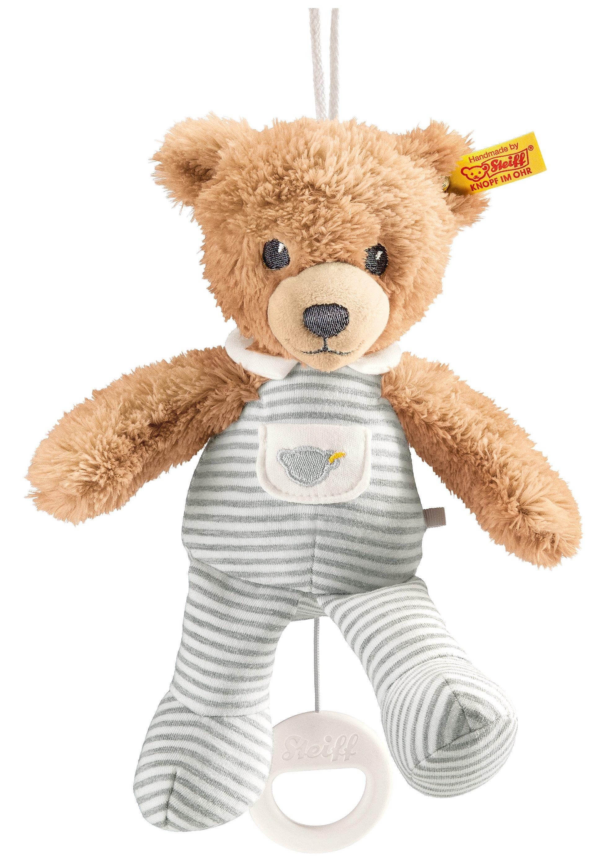 Steiff Teddy Bär Schlaf gut frottee Schmusetuch Kuscheltuch Schnuffeltuch 28cm