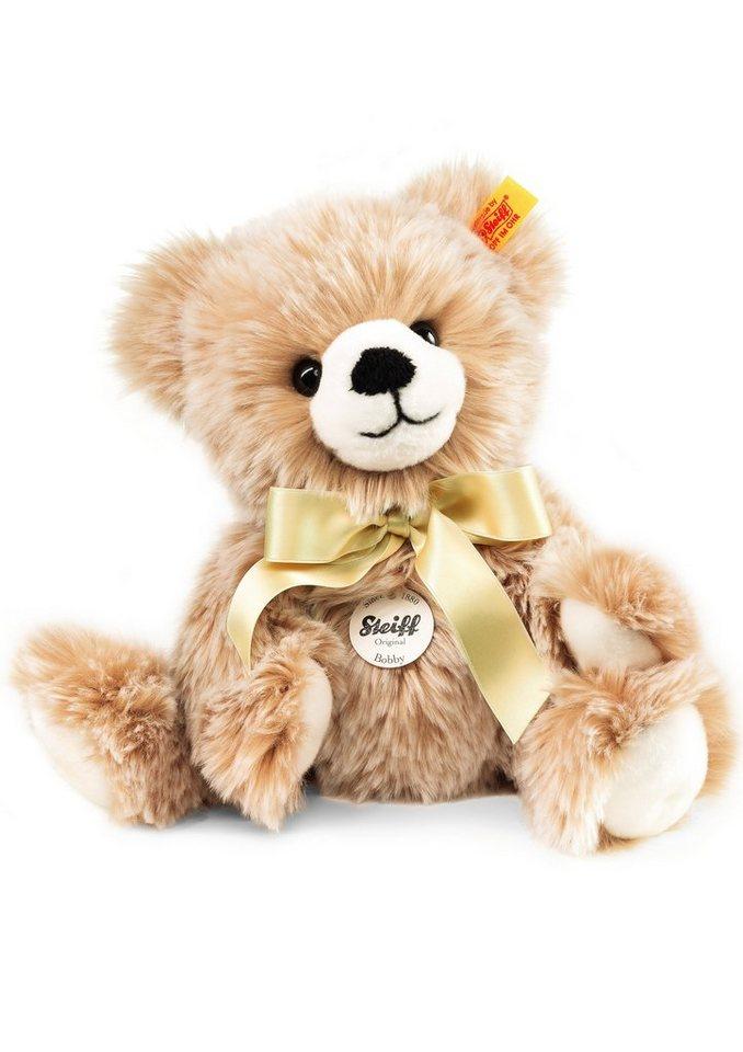 Steiff Plüschtier, 30 cm, »Bobby Schlenker-Teddybär« in braun