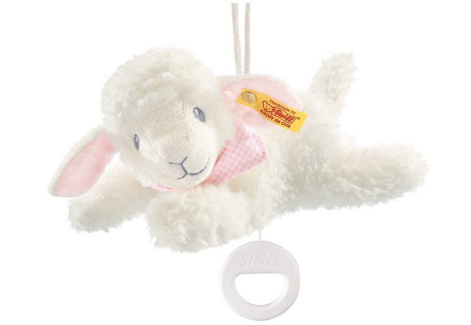 Steiff Spieluhr, »Träum-süß-Lamm Spieluhr« in Weiß/Rosa