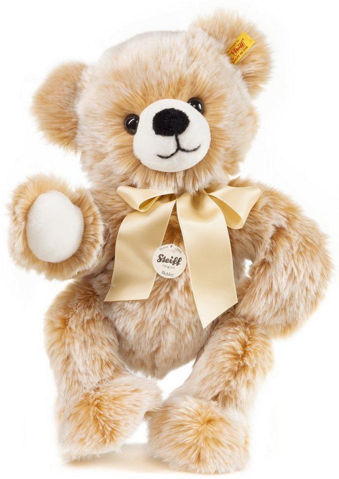 Steiff Plüschtier, 40 cm, »Bobby Schlenker-Teddybär« in braun
