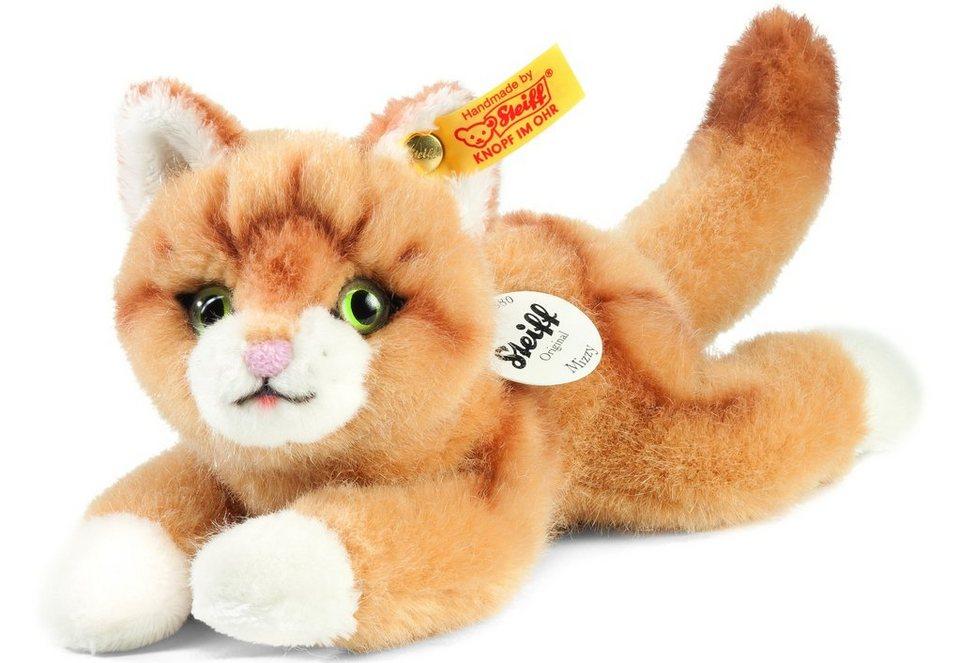 Steiff Plüschkatze, »Kleiner Freund Katze Mizzy« in braun