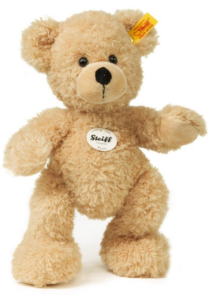 Steiff Plüschtier, 28 cm, »Fynn Teddybär« in Natur