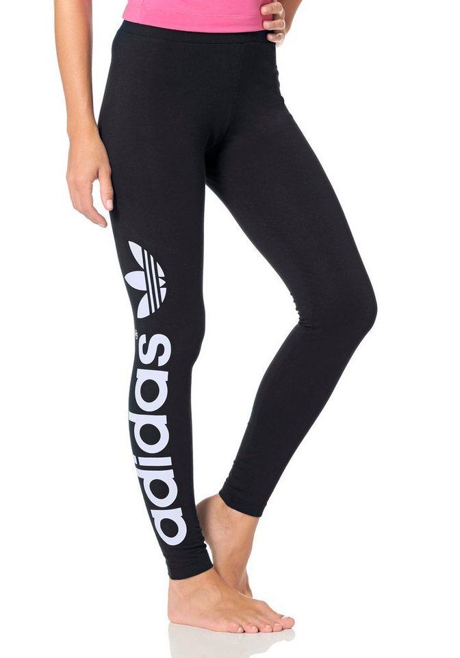 adidas Originals Leggings in schwarz
