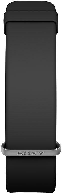 Sony SmartBand 2 SWR12 Smartwatch, - Display, Wasserdicht in Schwarz
