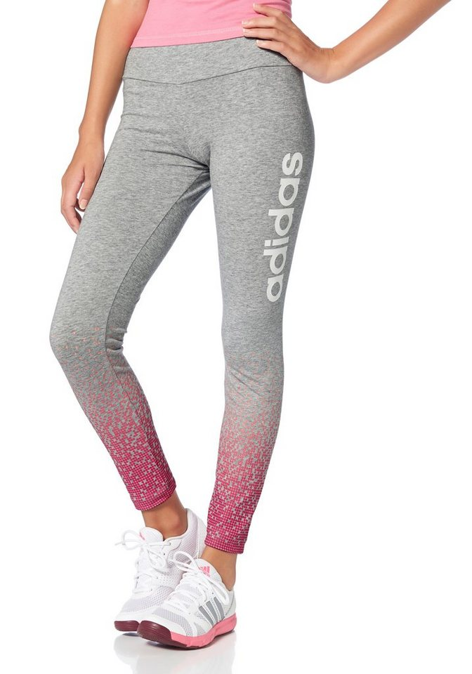 adidas Performance WARDROBE FUN TIGHT Leggings in Grau-Pink