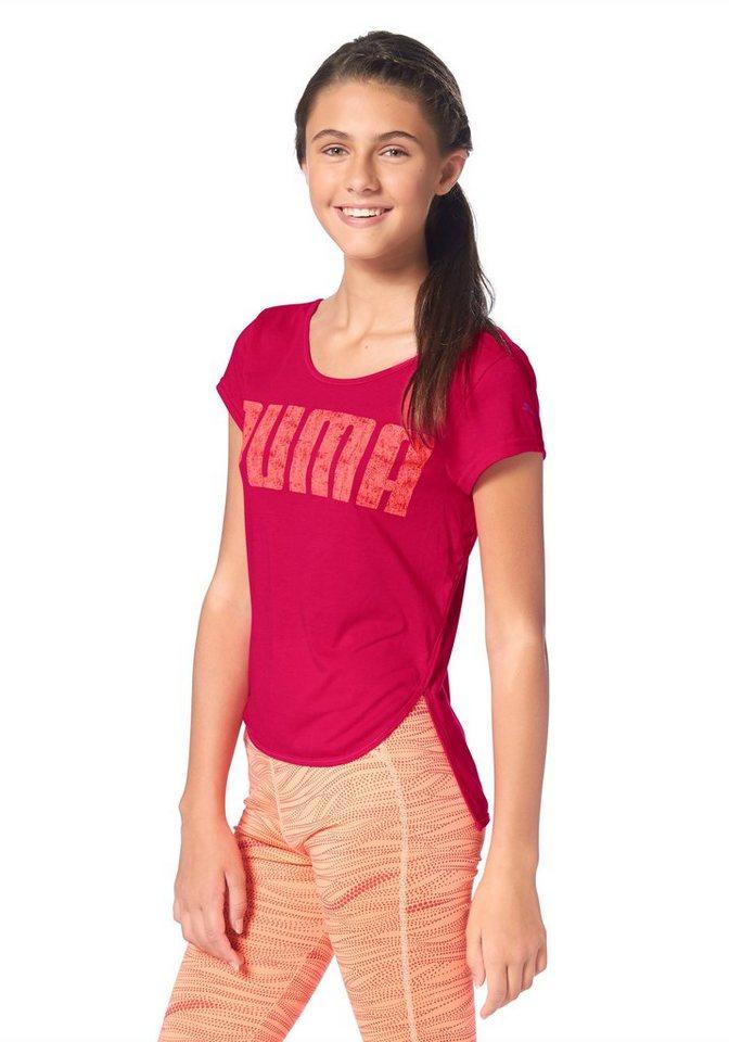 PUMA ACTIVE DANCE TEE T-Shirt in Pink