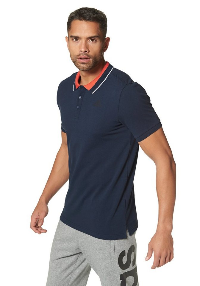 adidas Performance ESSENTIALS POLO Poloshirt in Marine