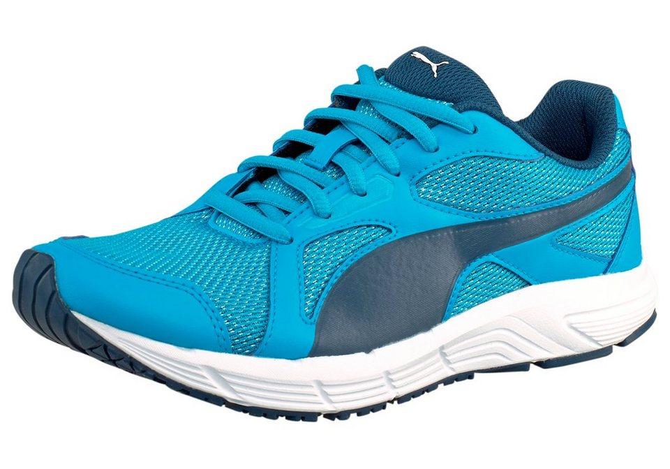 PUMA Axis V4 Mesh Jr Sneaker in Blau-Weiß