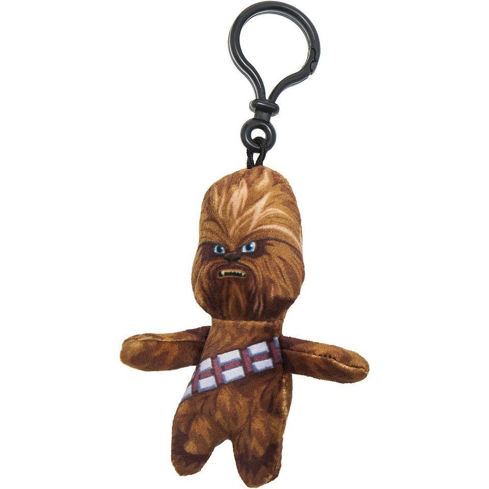 JOY TOY Plüschschlüsselanhänger Chewbacca Star Wars, 8 cm