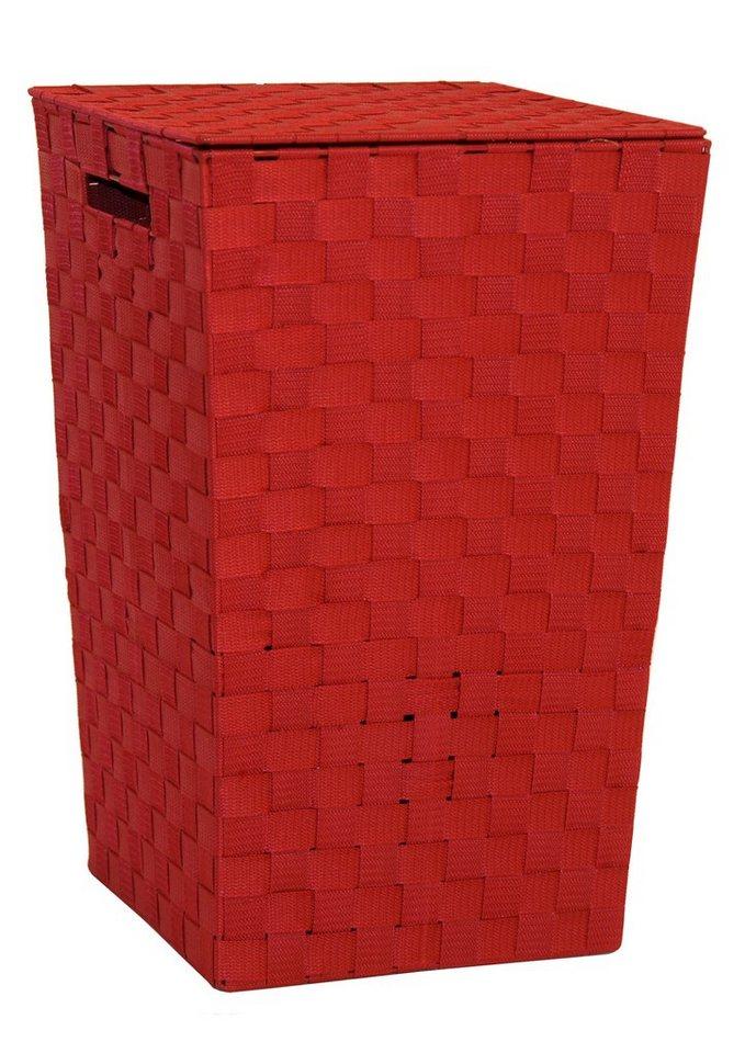 Wäschesammler in rot
