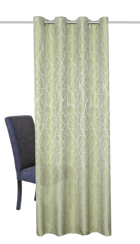 Vorhang, Home Wohnideen, »Siero« (1 Stück) in grün