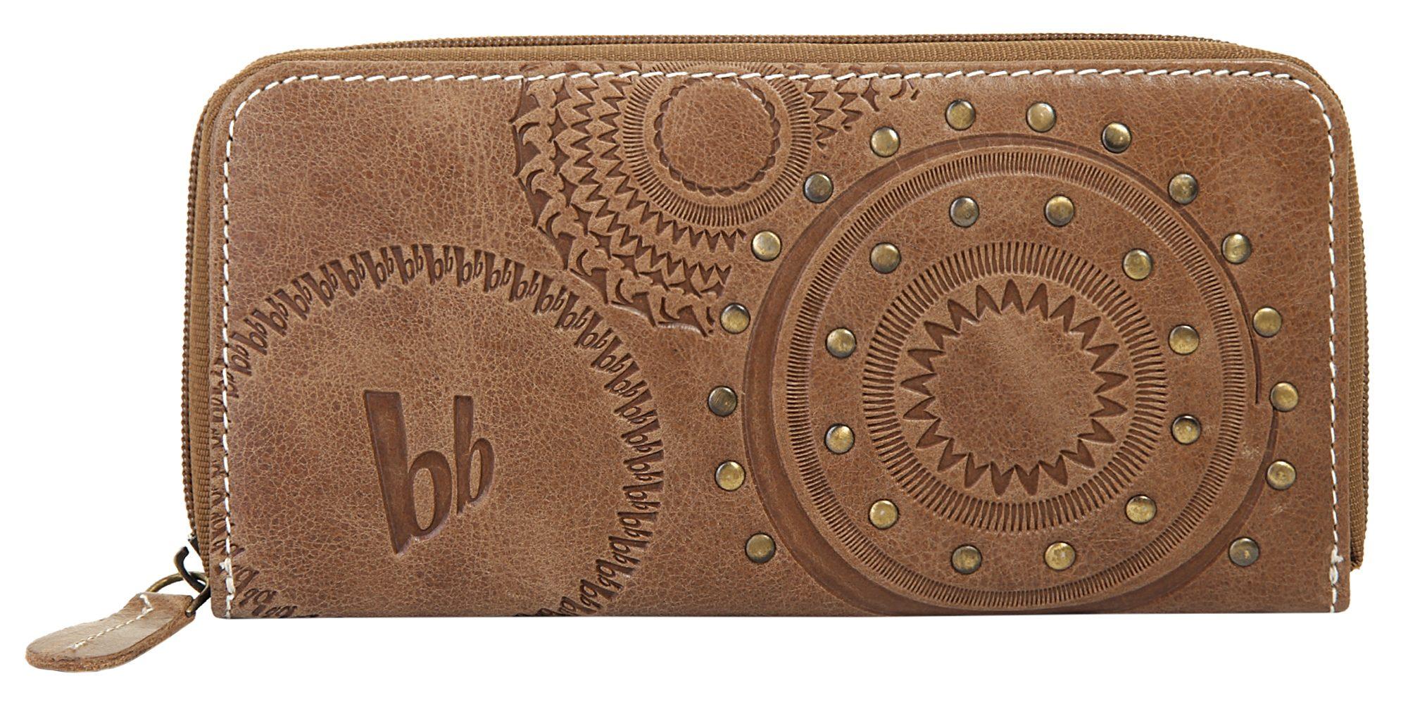 Кожаный женский бумажник