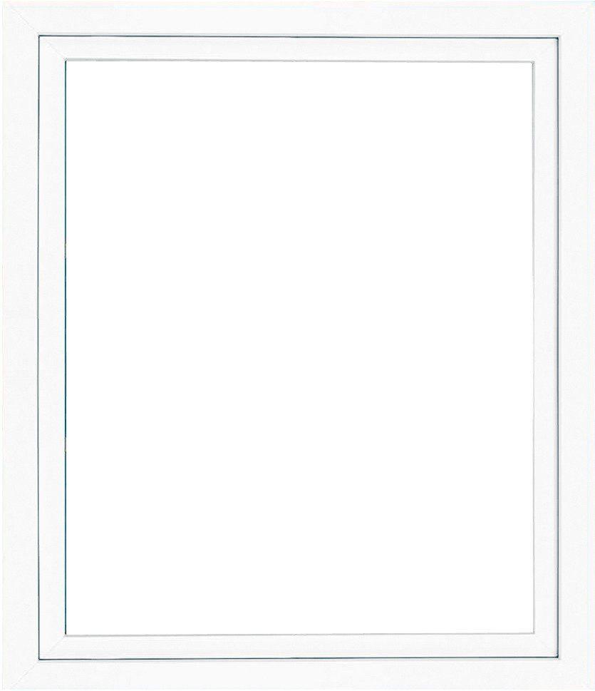 Roro Kunststoff-Fenster, BxH: 100x50 cm, weiß