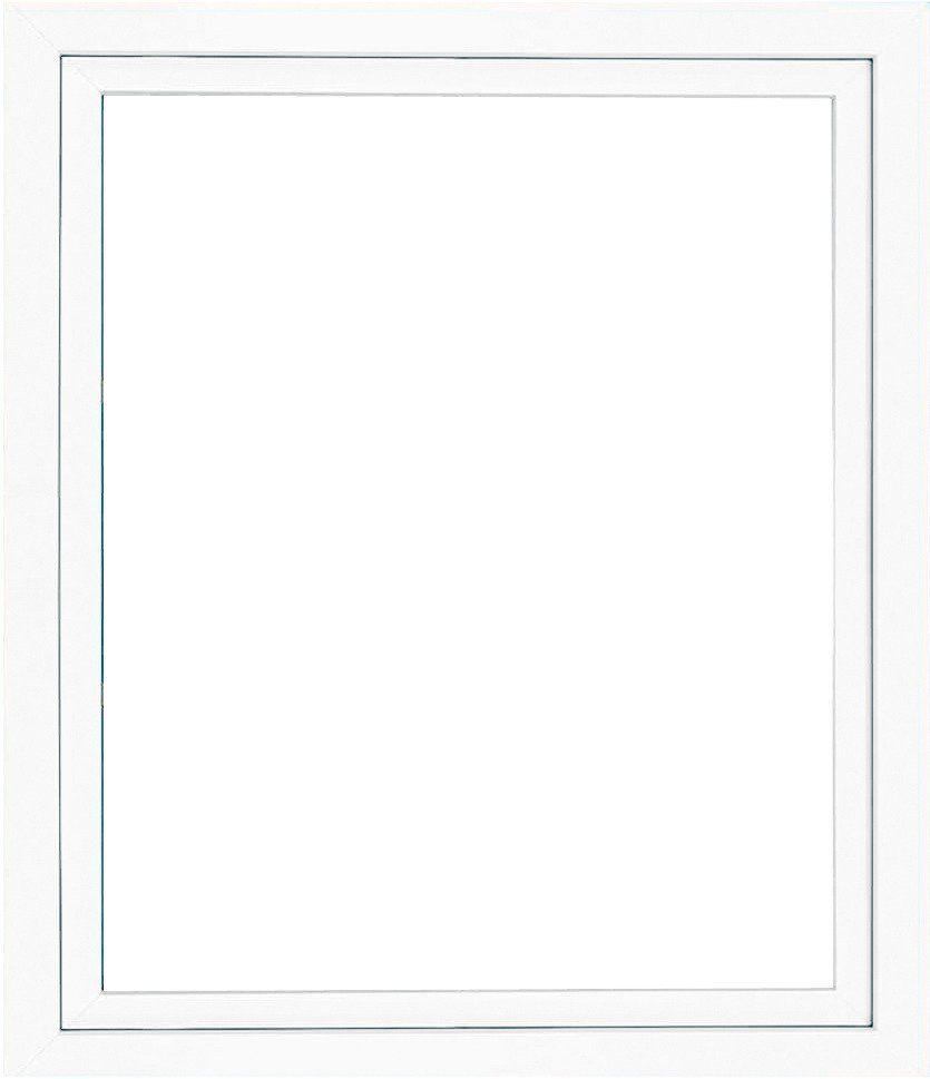 Kunststoff-Fenster, BxH: 75x60 cm, weiß