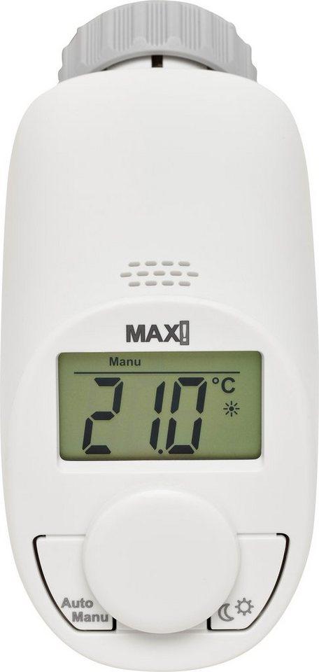 MAX! Smart Home Energie & Komfort »eTRV Heizkörperthermostat basic« in weiss